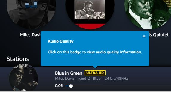 CNBC Tech: Amazon Ultra HD Music