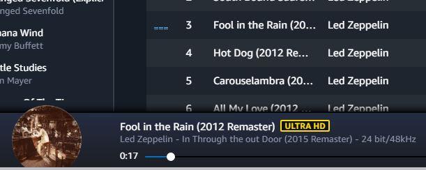 CNBC Tech: Amazon Ultra HD Music 2