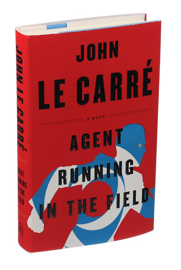 """John le Carré's """"Agent Running in the Field"""" comes out Oct. 22."""